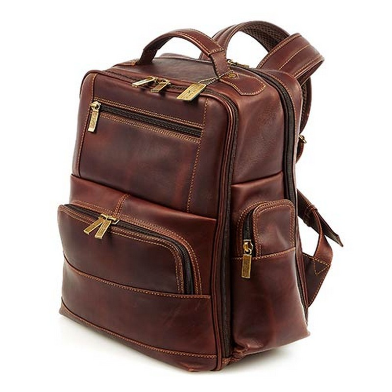 Legendary Executive Leather Backpack Custom backpack