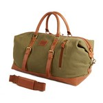 Large Colorado Leather Duffel