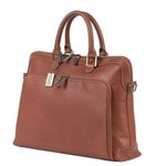 Womens Charlotte Leather Briefcase