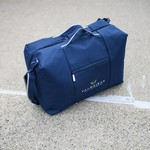 Dempsey Split Weekender Bag Navy Blue