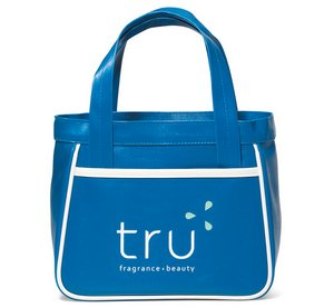 Retro Mini Fashion Tote - Pacific Blue