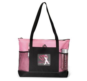 Select Zipperred Tote Bag - Peony Pink