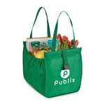 Companion Shopper Tote Kelly Green