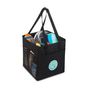 Colbie Collapsible Cotton Tote Black