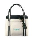 Piccolo Mini Tote - Natural/Black