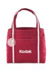 Piccolo Mini Fashion Tote - Red/Natural