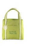 Piccolo Mini Tote Bag - Green/White