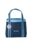 Piccolo Mini Fashion Tote - Navy/Sky Blue