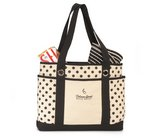 Audrey Fashion Tote Bag - Black