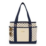 Audrey Fashion Tote Navy Blue