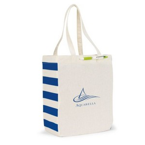 Chelsea Cotton Market Tote Natural/Navy