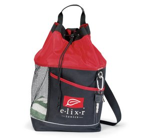 Oceanside Sport Tote - Red