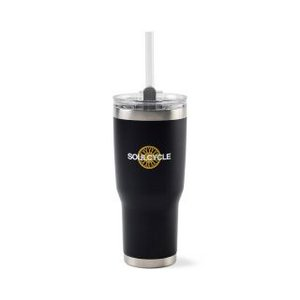 Aviana  Midas Double Wall Stainless Tumbler - 24 Oz. Black