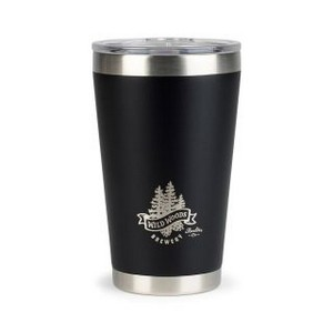 Aviana  Vale Double Wall Stainless Pint - 16 Oz. Matte Black