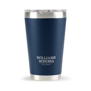 Aviana  Vale Double Wall Stainless Pint - 16 Oz. Matte Navy Blue