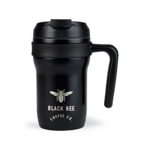 Aviana Aurora Double Wall Stainless Mug - 12 Oz. Black