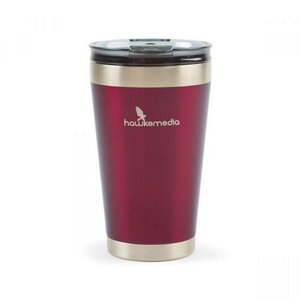 Aviana  Solara Double Wall Stainless Tumbler - 16 Oz. Wine Satin