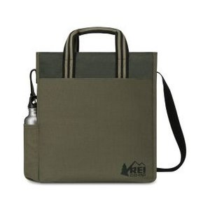 Charlie Cotton Tote Deep Forest Green