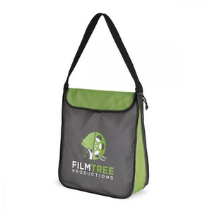 Essex Expandable Tote Apple Green- Seattle Gray