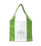 Finale Foldaway Shopper Apple Green\White