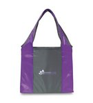 Finale Foldaway Shopper Purple\Seattle Grey