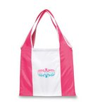 Finale Foldaway Shopper Deep Pink\White