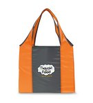 Finale Foldaway Shopper Orange\Seattle Grey