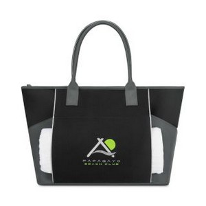Balance Active Cotton Tote Black/Seattle Grey
