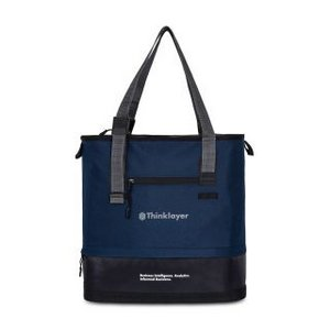 Brighton Adjustable Tote Navy Blue