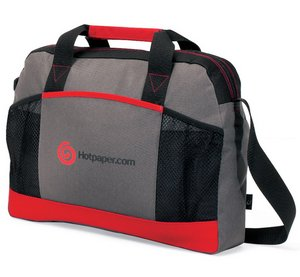 Essential Portfolio - Grey/ Red