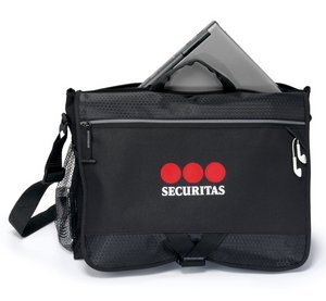 Focus Messenger Bag - Black