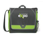 Elation Messenger Bag - Apple Green