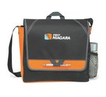 Elation Messenger Bag - Tangerine Orange
