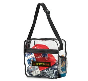 Event Messenger Tote Bag - Clear - Meets NFL Guidelines