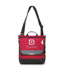 Omni Tablet Messenger Bag - Red- Kid Friendly