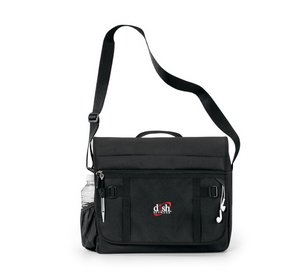 Global Messenger Bag - Black