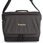 Heritage Supply Tanner Computer Messenger Bag - Charcoal Heather/B