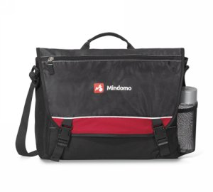 Pursuit Computer Messenger Bag Red