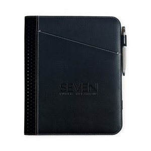 Cedar Leather Writing Pad Black
