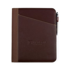 Cedar Leather Writing Pad Brown