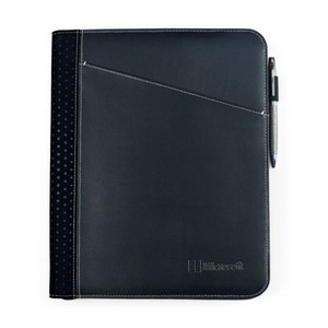 Cedar Leather Padfolio Black