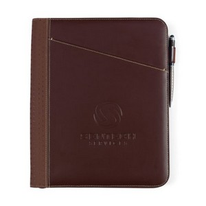 Cedar Leather Padfolio Brown