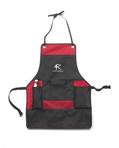 Just Grillin' Apron Red