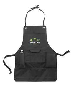 Just Grillin' Apron Black