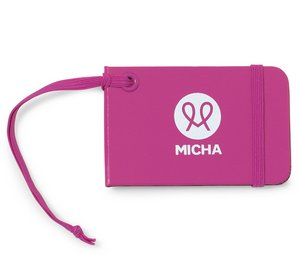 Moleskine Luggage Tag Deep Pink