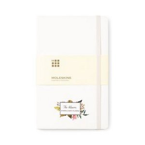 Moleskine? Hard Cover Dotted Large Notebook White