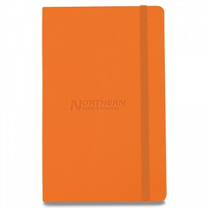 Moleskine Hard Cover Ruled Large Notebook True Orange
