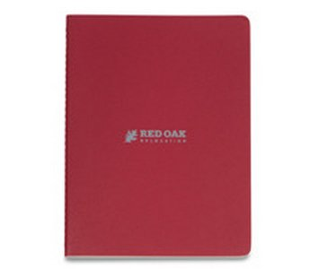 Moleskine Cahier Ruled Extra Large Journal Cranberry Red