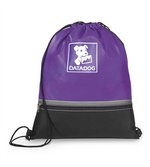 Arrow Cinchpack Purple