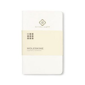 Moleskine  Volant Ruled Pocket Journal White